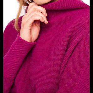 Free People Ottoman Mulberry sweater.  XS